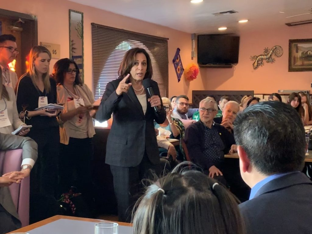 Univision Poll: Kamala Harris Jumps into Lead Among Hispanic Democrats After Democratic Debate