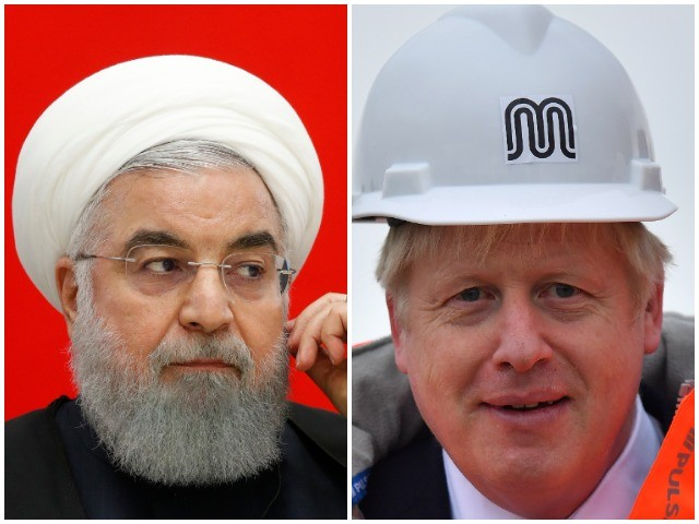 Rouhani Looks to Boris Johnson to Ease Tensions with Iran