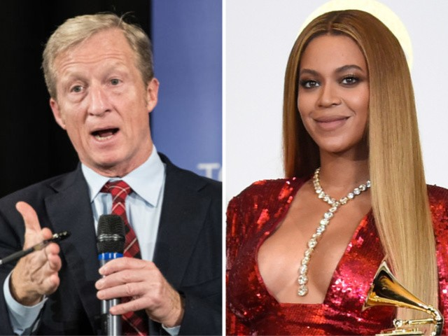 Billionaire Democrat Tom Steyer Uses Beyonce to Defend Wealth