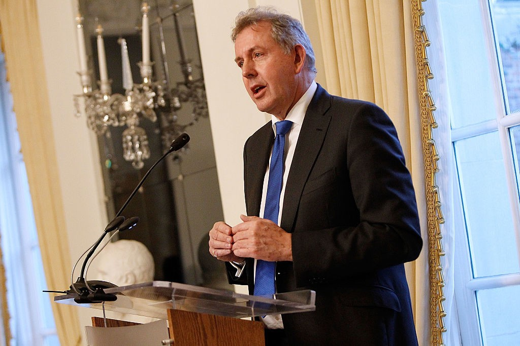 British Ambassador to Washington Sir Kim Darroch Quits After Anti-Trump Comments Leaked