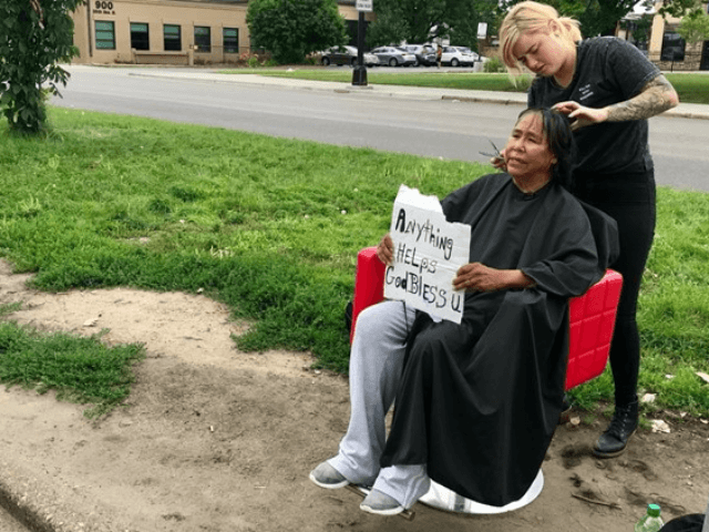 Minnesota Hair Stylist Brings Mobile Salon to the Homeless