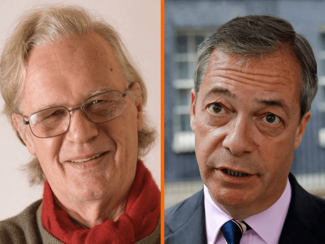 Exclusive: Nigel Farage's Tribute to British Eurosceptic 'Literary Giant' Christopher Booker