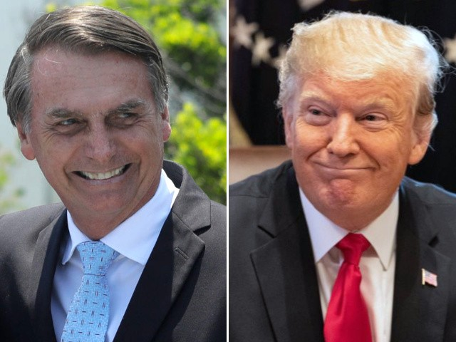 Bolsonaro Channels Trump to South American Trade Bloc: 'I Want Brazil to Be Great'