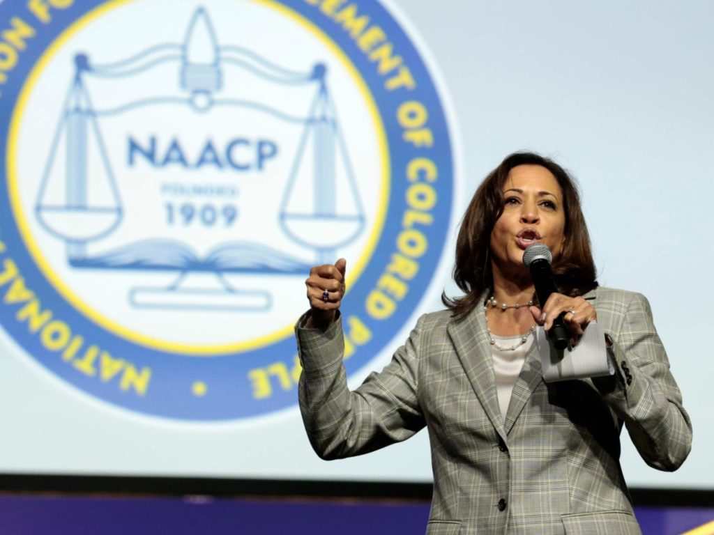 Kamala Harris Blasts Trump's Decision to Restart Death Penalty, Execute White Supremacist: 'A Sad Day'