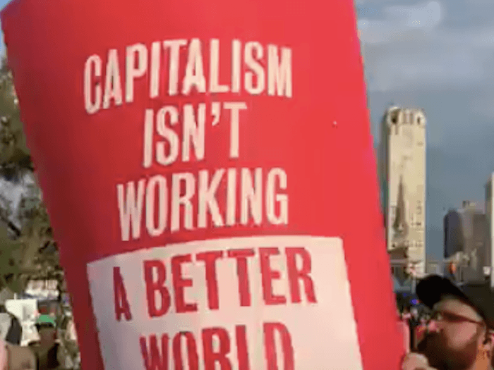 Green New Deal Activists at Democrat Debate: 'Capitalism Isn't Working'