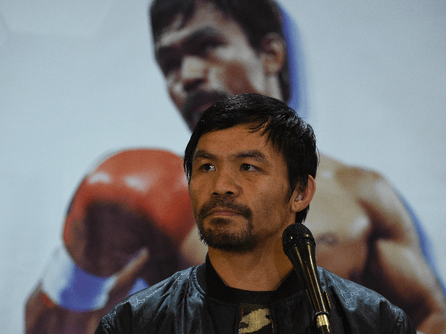 Manny Pacquiao Files Senate Bill to Restore Death Penalty in the Philippines