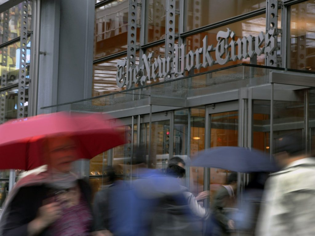 Nolte: Anti-Air Conditioning 'New York Times' Enjoys 6250-Ton Cooling System