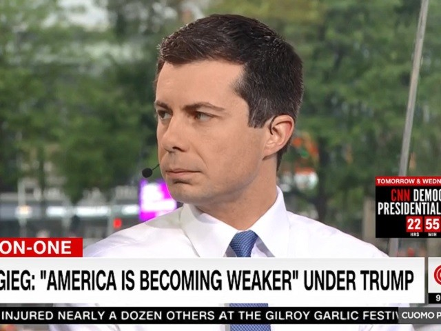 Buttigieg on Trump's Baltimore Tweets: 'America Is Becoming Weaker' Every Day Because Trump Divides