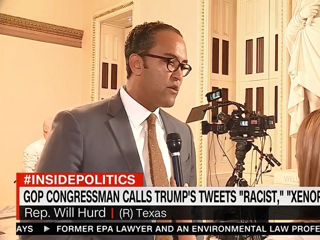 GOP Rep. Hurd: Trump's Tweets 'Are Racist and Xenophobic'