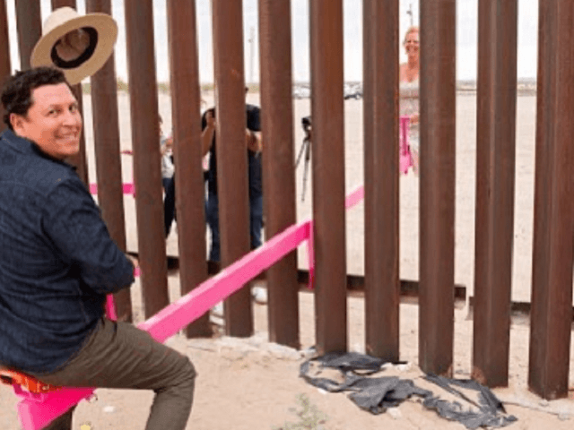 California Professors Install Seesaws in New Border Wall