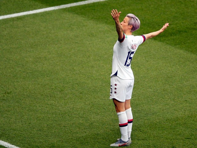Megan Rapinoe: My Girlfriend Says 'They're Going to Ask You to Run for President'