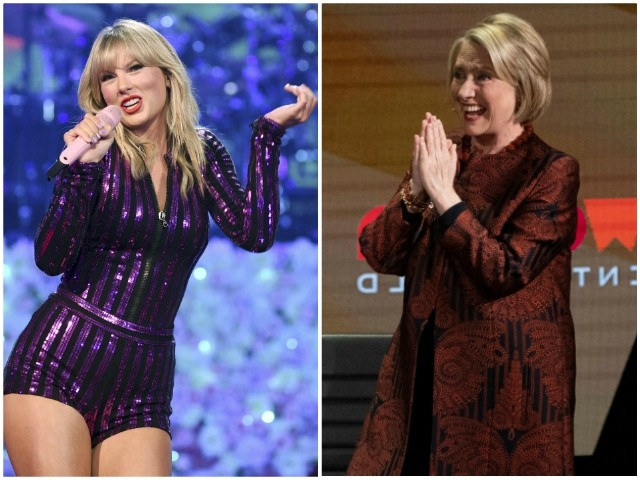 Taylor Swift Compares Herself to Hillary: We Were 'The Two Nasty Women'