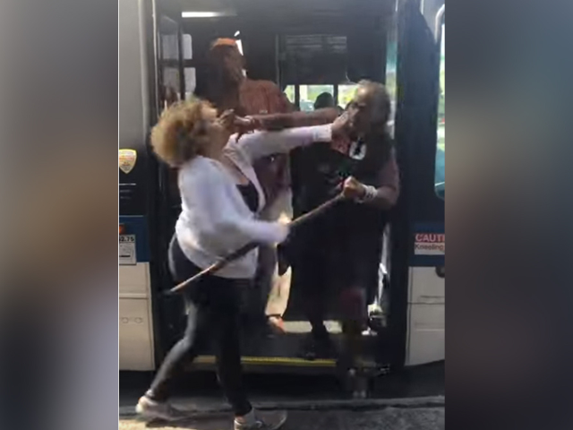VIDEO: Two Bronx Bus Riders Allegedly Beat Down Elderly Woman