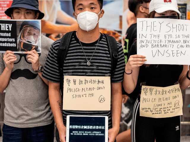 Chinese Media: Hong Kong Protesters 'Mobsters,' 'Terrorists'