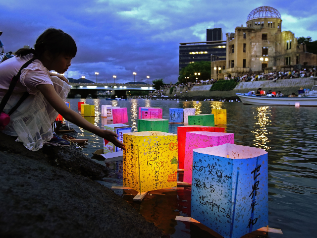 50,000 Attend Nuclear Bomb Anniversary Memorial in Hiroshima