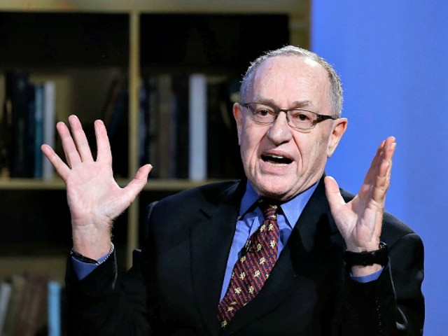 Alan Dershowitz: 'I Have Far More Enmity Toward the Hard-Left Progressives than I Do Toward Conservatives'