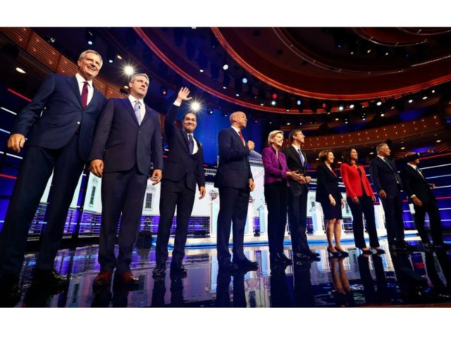 Report: Only Nine Democrat Candidates Are Qualified for Upcoming Debate