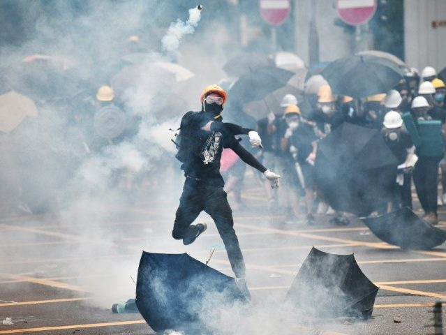 Hong Kong Charges 44 Protesters with Rioting, Arrests Only 12 Triad Mob Attackers