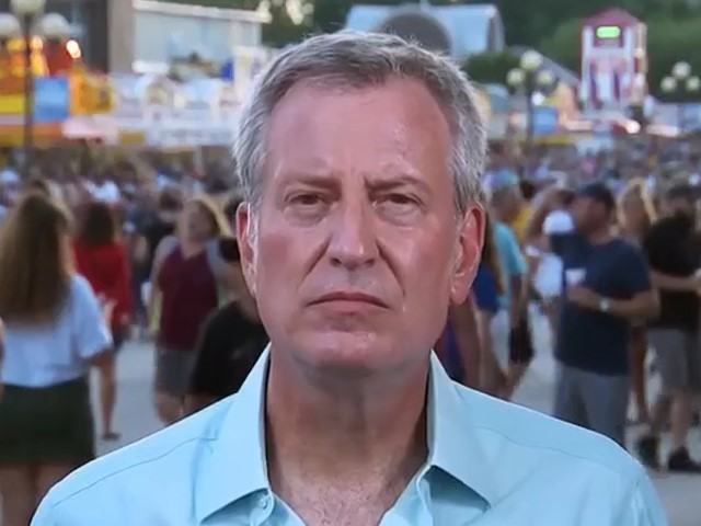 Bill de Blasio on Epstein Autopsy: 'Not Confident at All in the Justice Department on Many Levels'