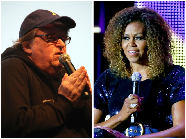 Michael Moore: America Needs 'Street Fighter' Michelle Obama to Run and 'Crush' Trump