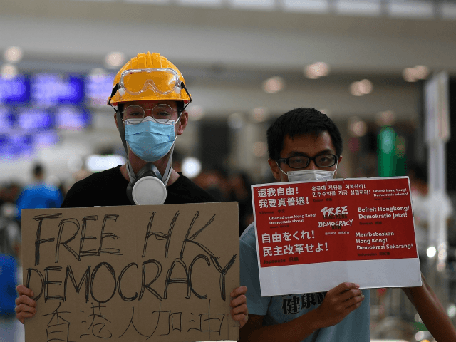 State Media: Hong Kong Protests Are U.S. 'Warfare' Tactic Against China