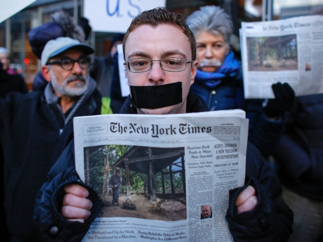 Nolte: 'New York Times' Changes Trump Headline to Appease Far-Left Extremists