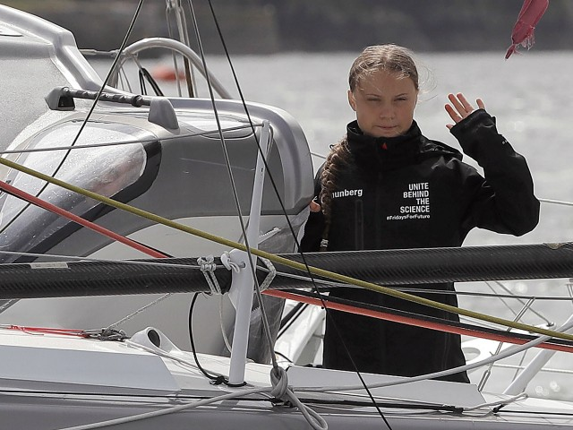 Teen Climate Change Activist Sails from London to NYC for Summit Sans Toilet, Shower