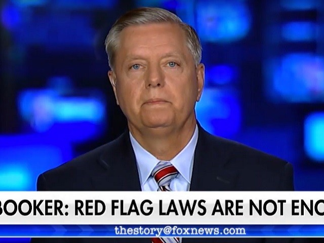 Graham: 'I've Never Seen' Trump as Determined as He Is on Red Flag Laws, Background Checks