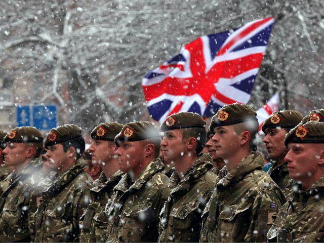 British Army Sees Fall in Strength for Ninth Consecutive Year