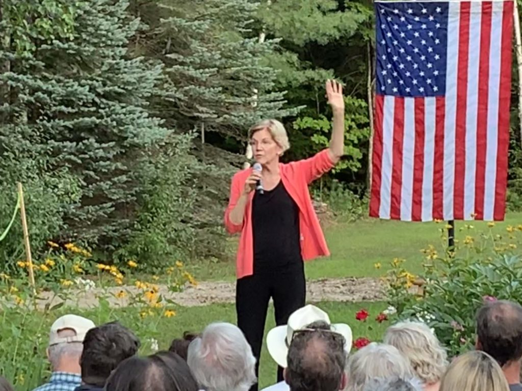 Elizabeth Warren: Trump Wants You to 'Blame People Who Aren't the Same Color'