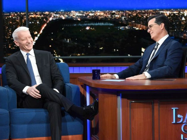 Stephen Colbert Says 'For Safety Sake' Trump Can't Come on His Show: He's Proselytizing for the Devil