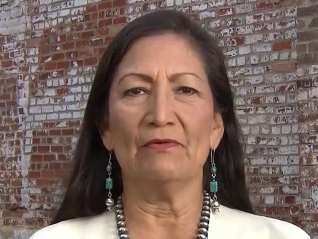 Dem Rep. Haaland: Trump Lashing Out at Warren Because of Her Success on Campaign Trail