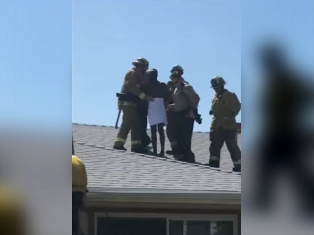 Naked Alleged Burglar Arrested After Being Found Stuck in a Chimney