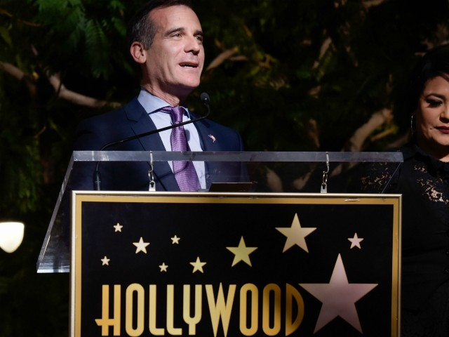 Public Works Union Attacks Eric Garcetti's 'Green New Deal' in L.A.