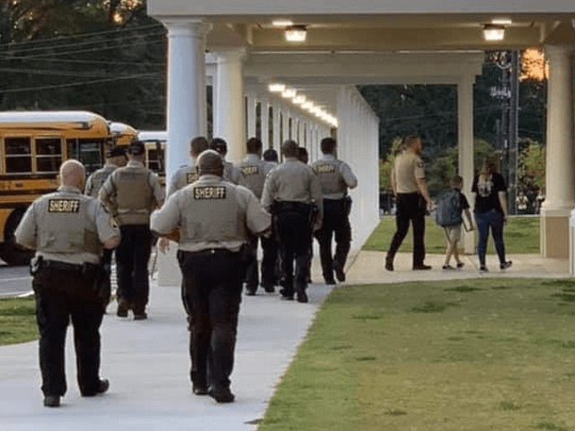 Georgia Deputies Accompany Son of Fallen Deputy to First Day of School