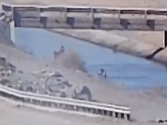 WATCH: Migrant Rescued After Nearly Drowning in Arizona Border Canal