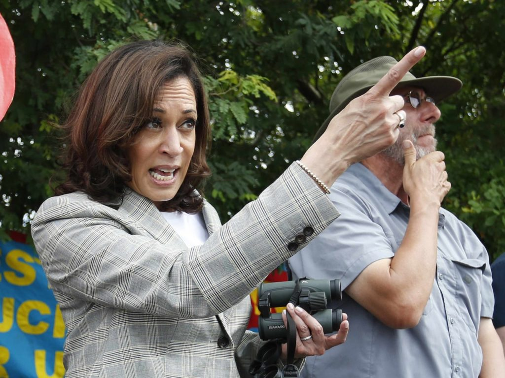 FACT CHECK: Kamala Harris Falsely Claims Migrant Teens 'Incarcerated ... Like Criminals'