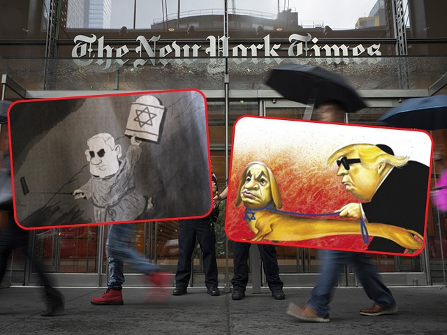 New York Times Ends Political Cartoons After Antisemitism Scandals