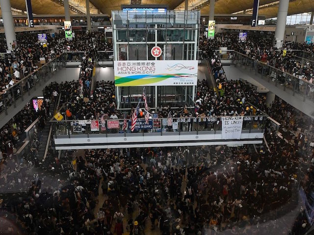 Photos: Protesters Force Hong Kong Airport to Cancel All Flights