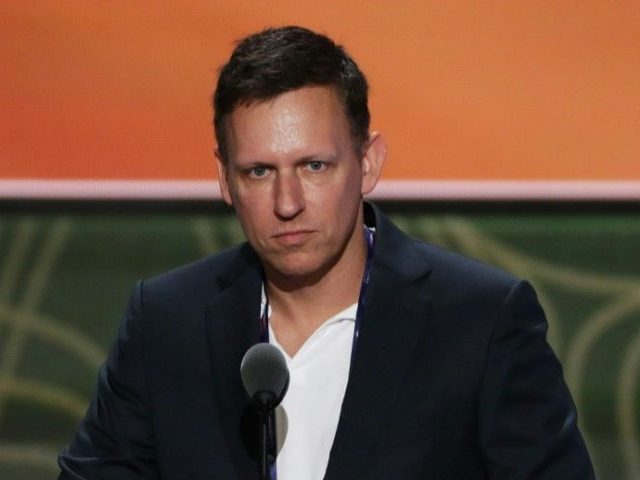 Peter Thiel: 'Globalist' Google Shares AI 'Military Technology' with China