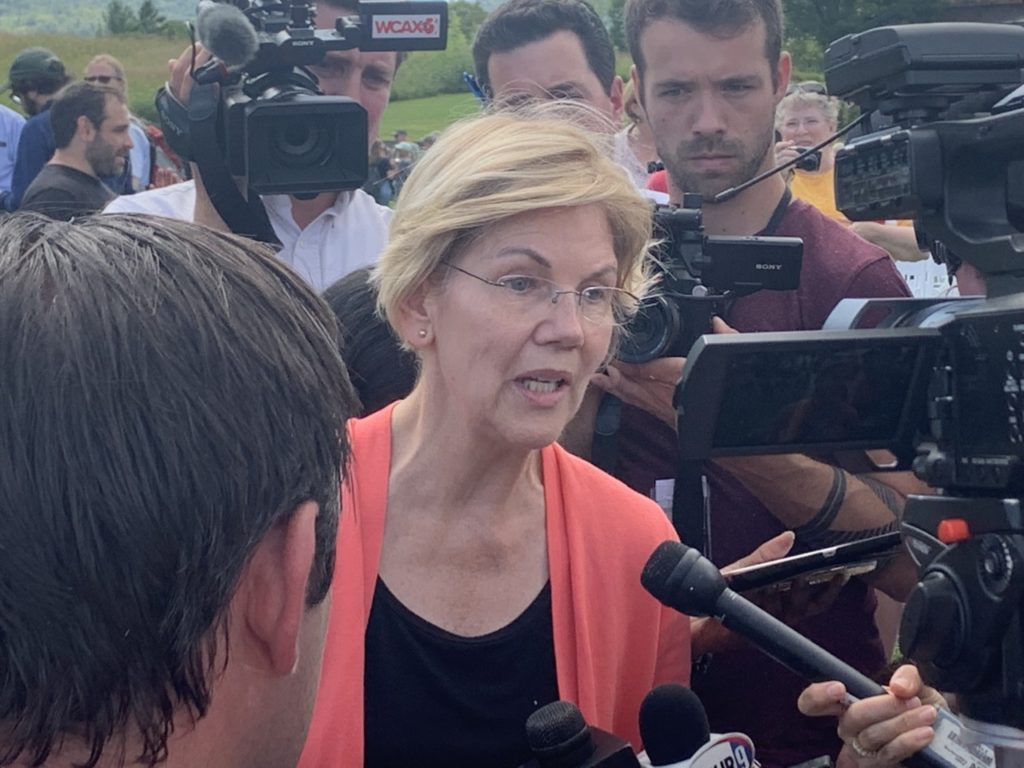 Elizabeth Warren Defends False Claim Michael Brown Was 'Murdered'