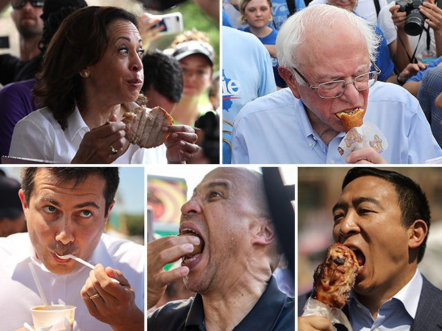 I'm Just Like You! Democrats Eat Food in Iowa