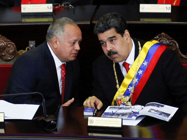 Report: U.S. in Talks with Venezuelan 'Drug Kingpin' Diosdado Cabello About Ousting Maduro