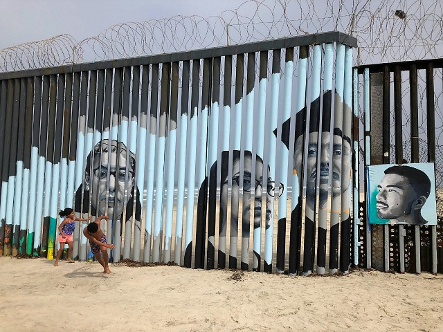 Artist Creates Mural on Mexico Border Wall to Honor Deported Illegal Aliens