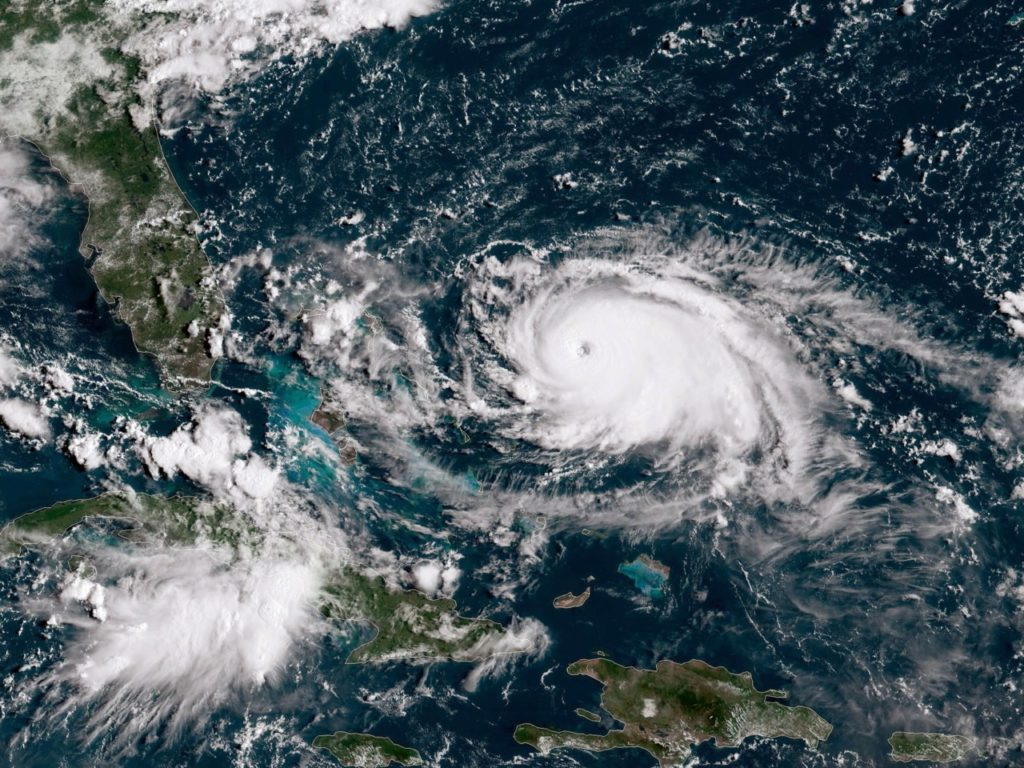 'Catastrophic' Hurricane Dorian Builds to Category 5, Closes on Bahamas