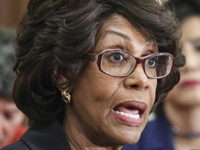Maxine Waters: Trump Is a 'Sleaze-Bag' 'Profiteering' Off the Presidency