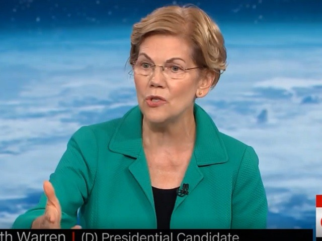 Warren: I Support a Carbon Tax