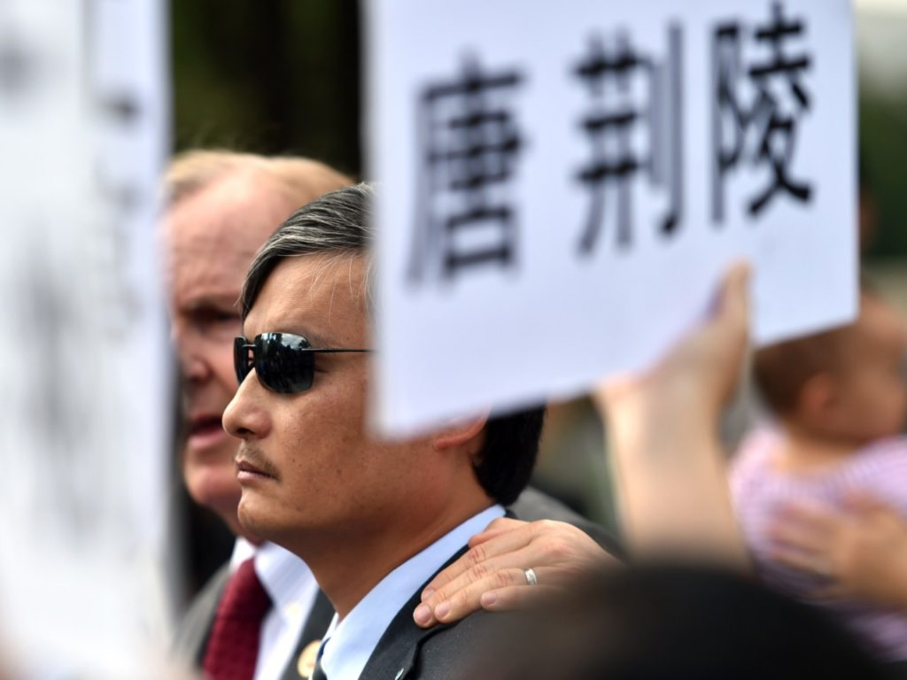 Former Political Prisoner Chen Guangcheng: Trump Has the Right Idea on China