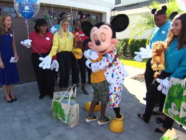 Boy Who Gave Up Disney Trip Money to Feed Hurricane Dorian Evacuees Surprised with Disney Trip