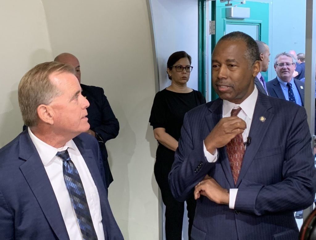 Ben Carson Warns of Potential 'Epidemic' Among Homeless in California Cities